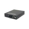 Managed Media Converter Gigabit Ethernet RJ45-SC SM